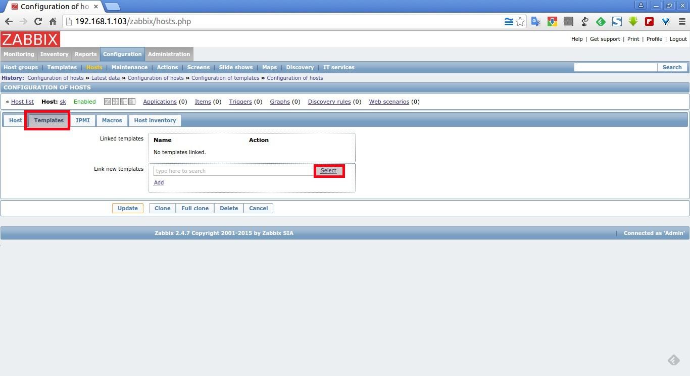 Configuration of hosts – Google Chrome_004