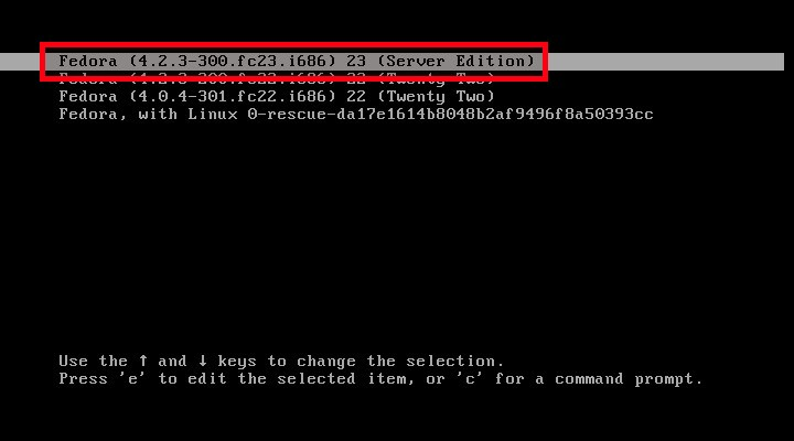 Fedora 22 [Running] - Oracle VM VirtualBox_004