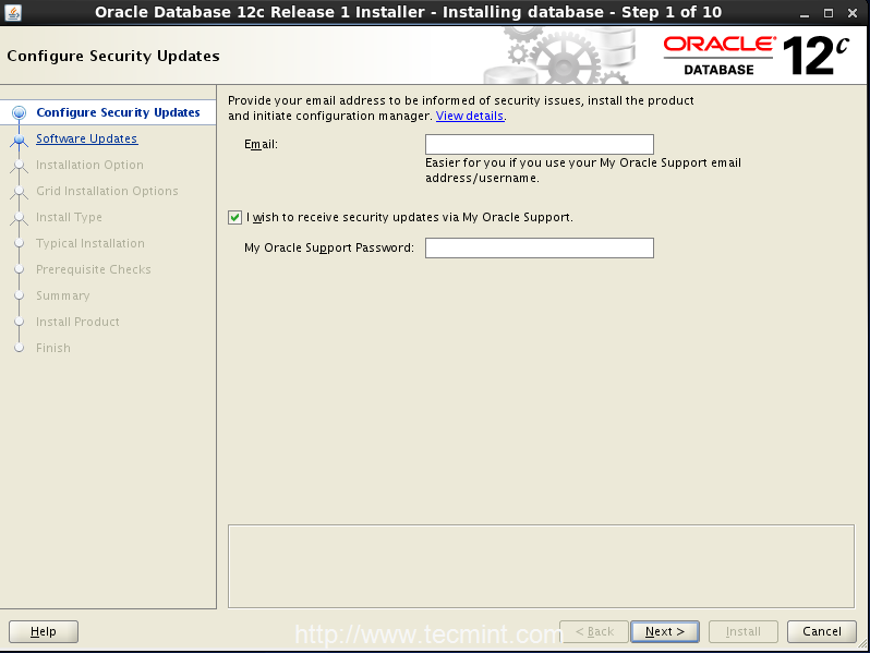 Step1_Oracle12c_OpenSuse