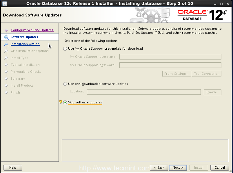 Step2_Oracle12c_OpenSuse