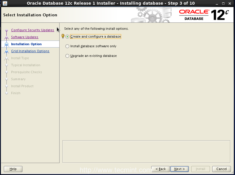 Step3_Oracle12c_OpenSuse