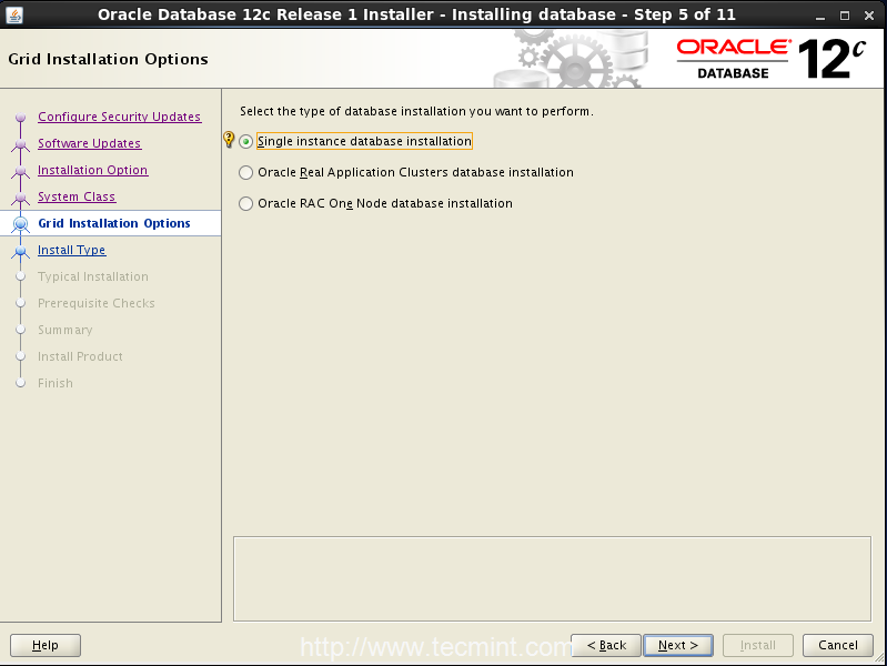 Step5_Oracle12c_OpenSuse