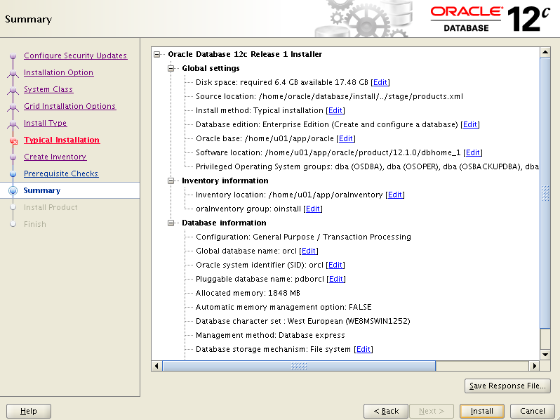 Step9_Oracle12c_OpenSuse