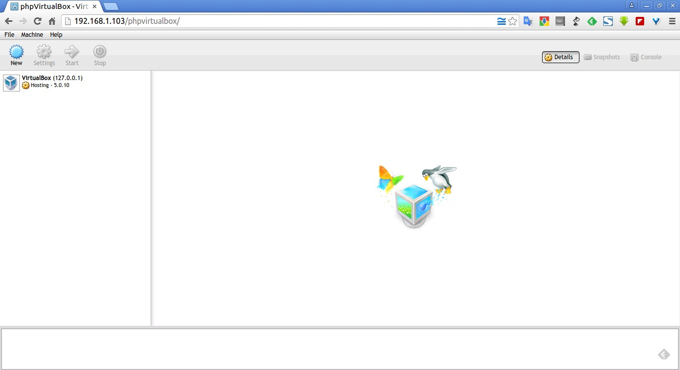 phpVirtualBox – VirtualBox Web Console – Google Chrome_002