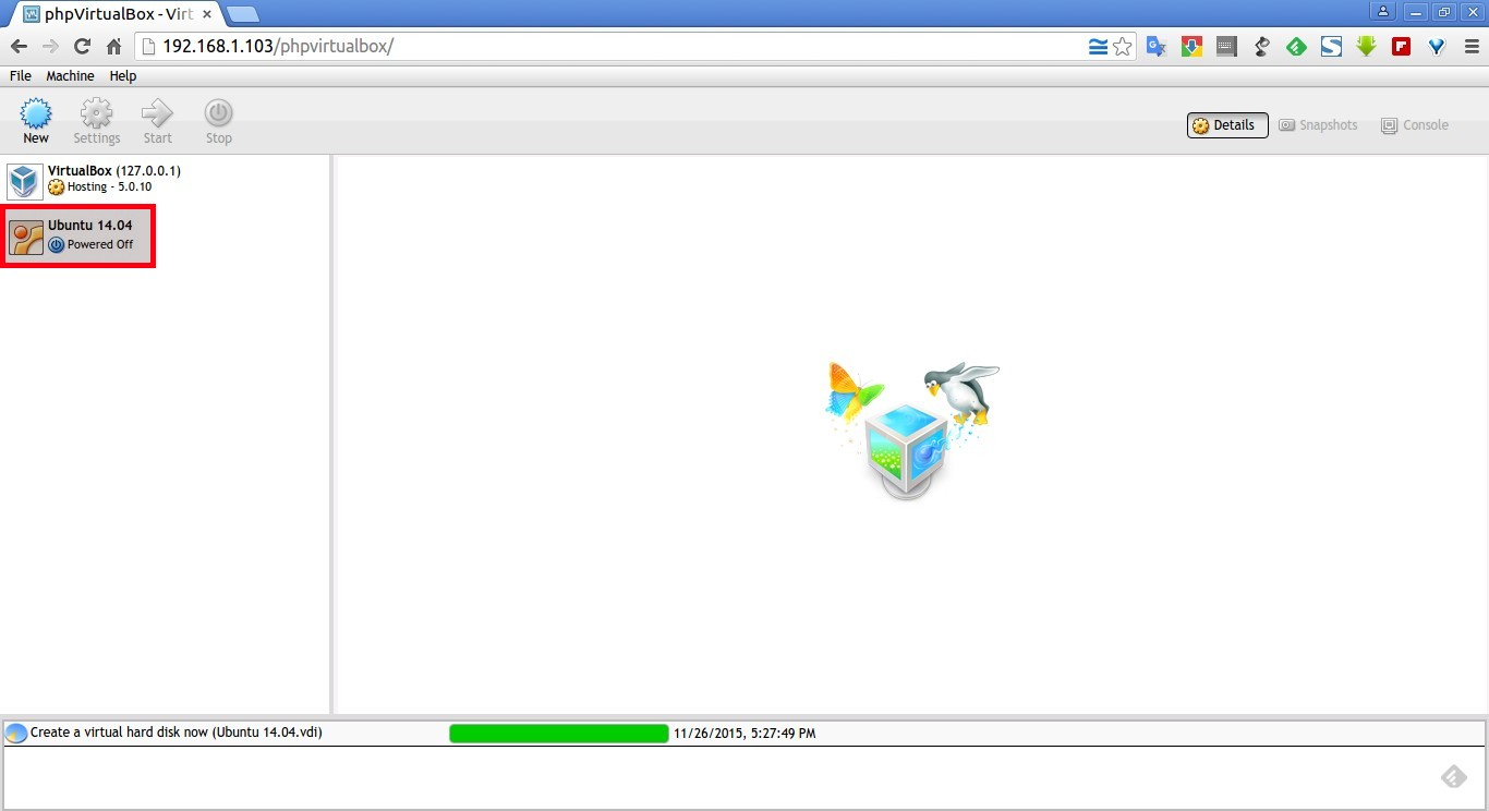 phpVirtualBox – VirtualBox Web Console – Google Chrome_009