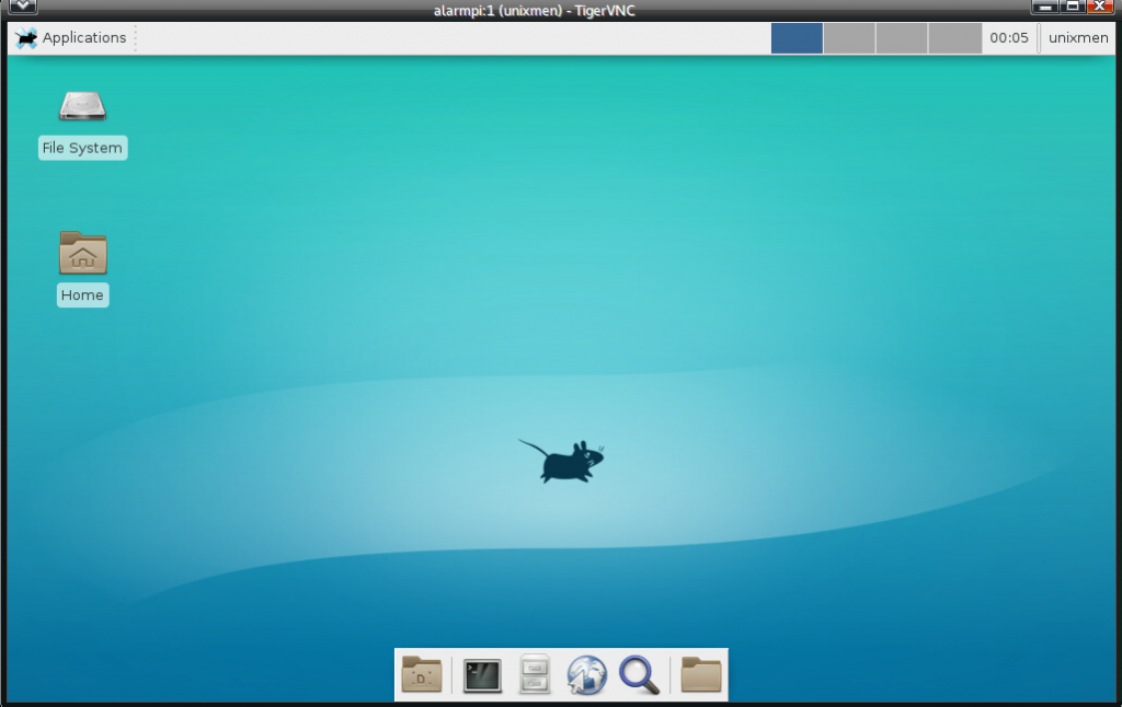 Arch linux and Raspberry Pi - vnc