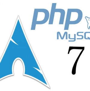 Install lamp with PHP7 on Arch Linux
