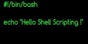 Videocast : Shell Scripting (part 1)