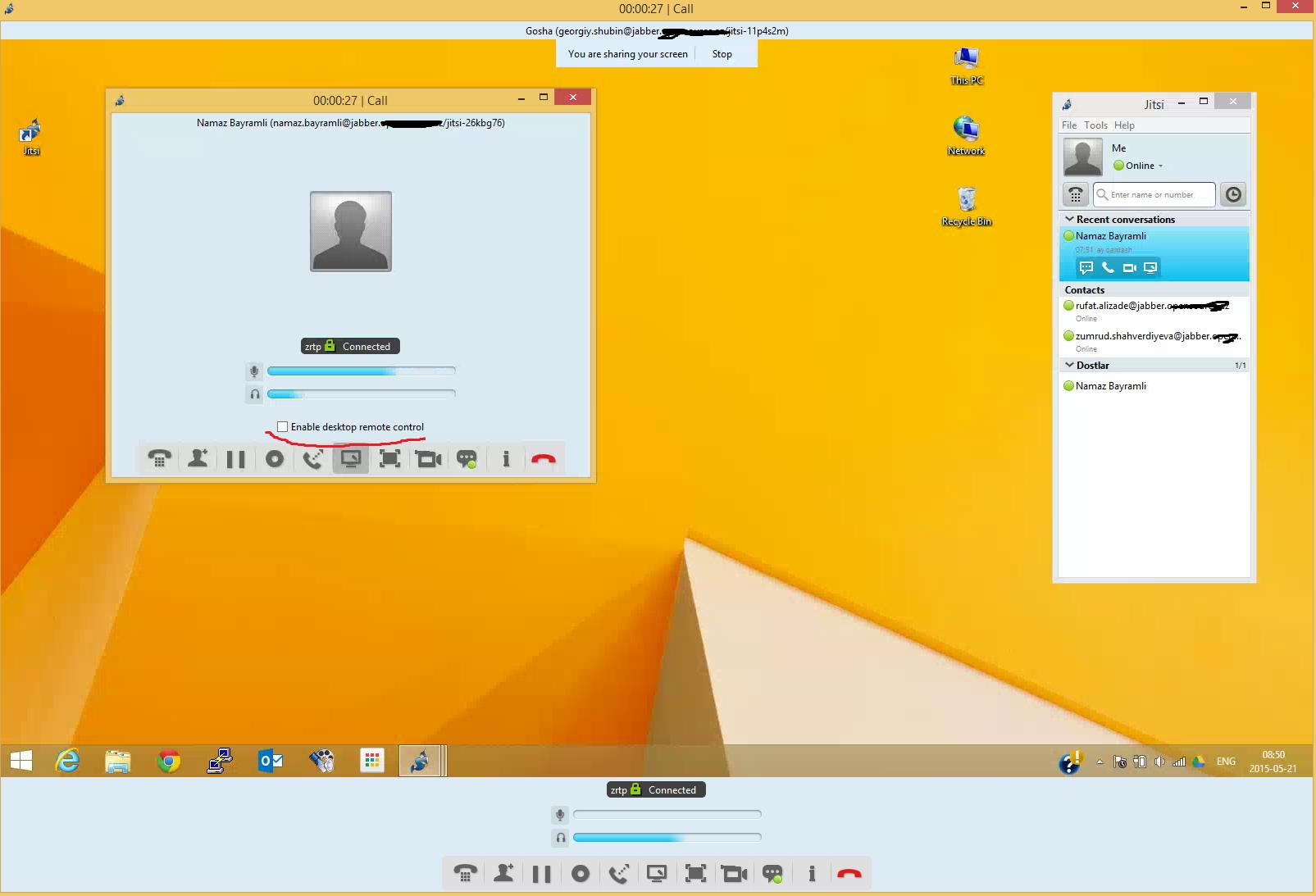 Desktop-Sharing