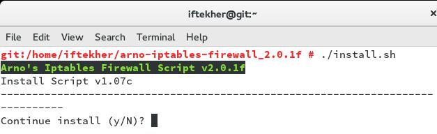 Install_OpenSUSE_arnoiptables