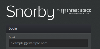Snorby-login-page