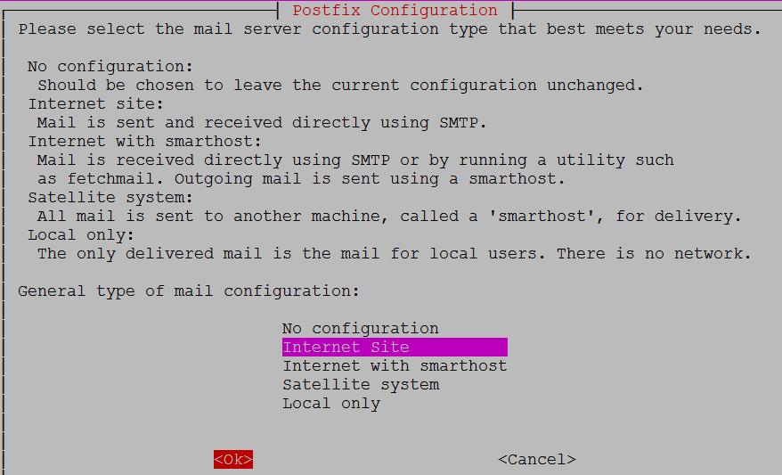 postfix-for-gitlab