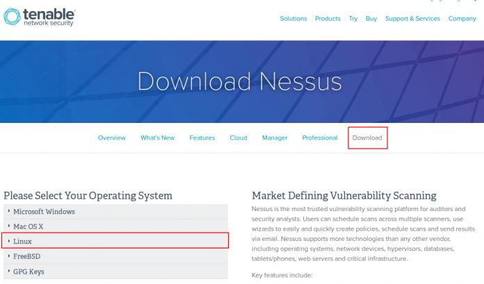 Nessus Download