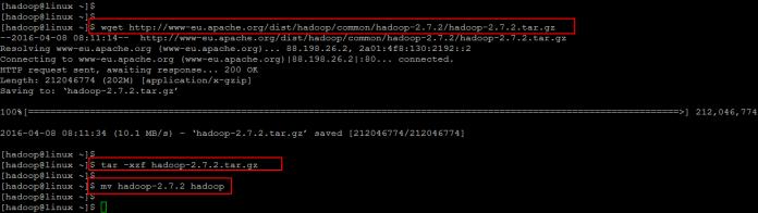 Download hadoop
