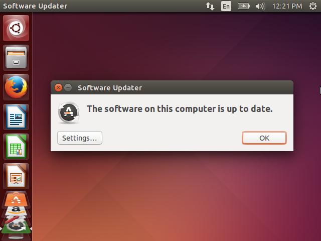 Software Updater Updates check