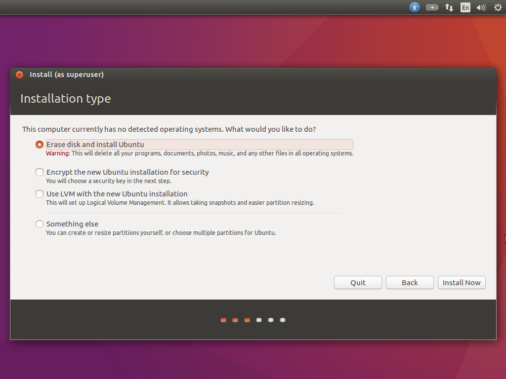 erase-disk-and-install-ubuntu