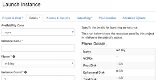Openstack instances Featured