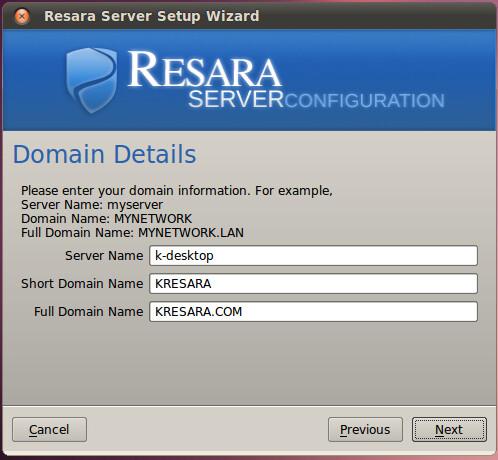 domain settings