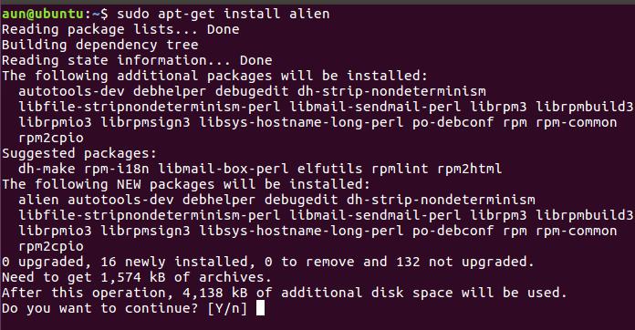 Alien install
