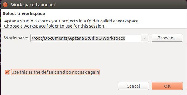 Workspace Launcher