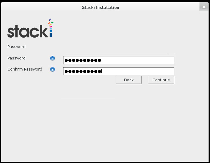 Stacki Root Password