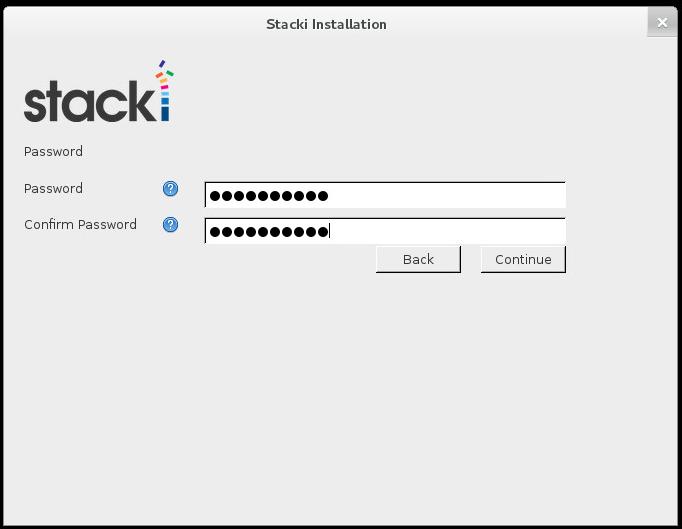 Stacki Root Password