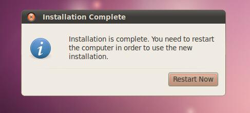 restart your system