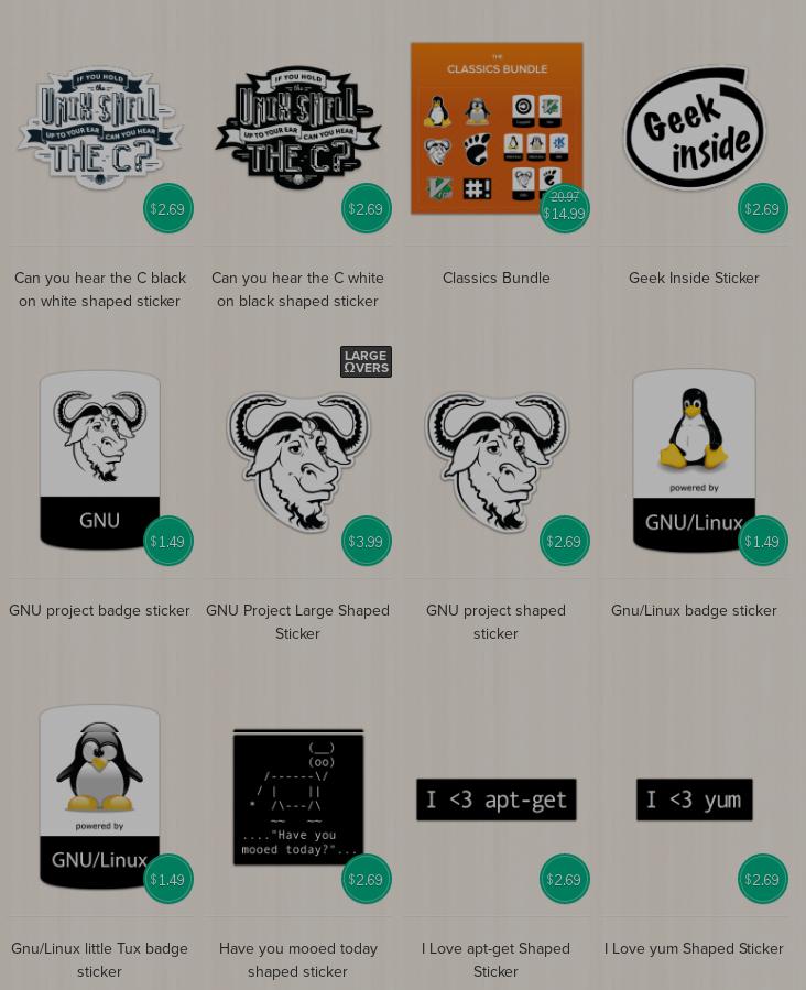 Tux Linux Stickers Unixstickers - 6