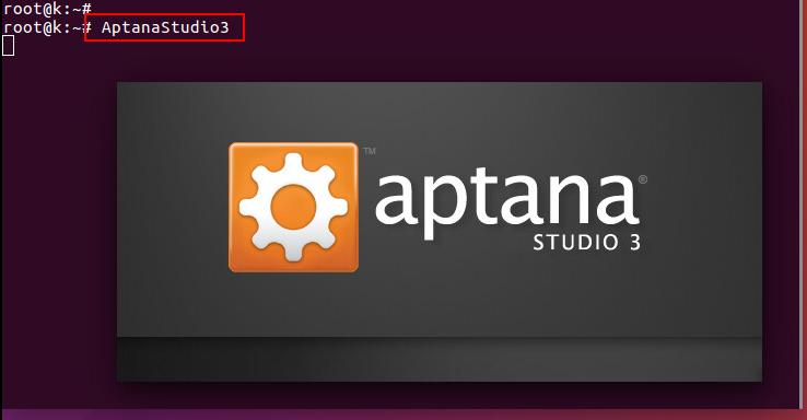 starting aptana