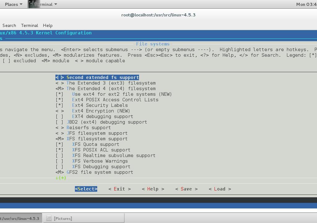 filesystem support
