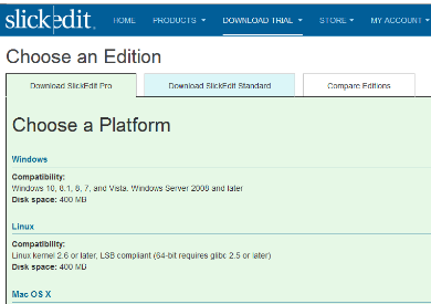 SlickEdit Linux