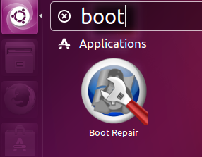 Boot Repair Launch