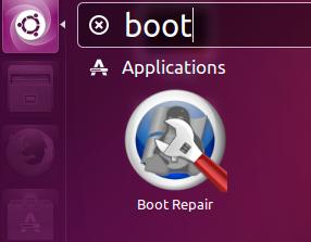 Boot Repair Launch
