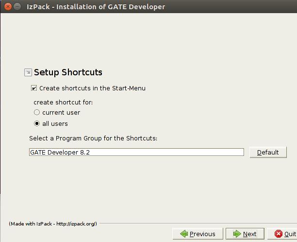 GATE Desktop