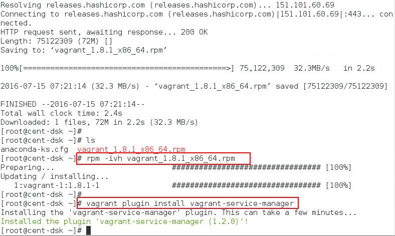vagrant plugin install