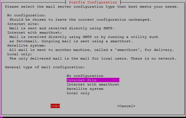 postfix config