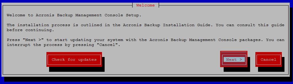 acronix mconsole