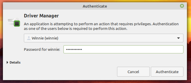 Authenticate-when-launching-device-manager
