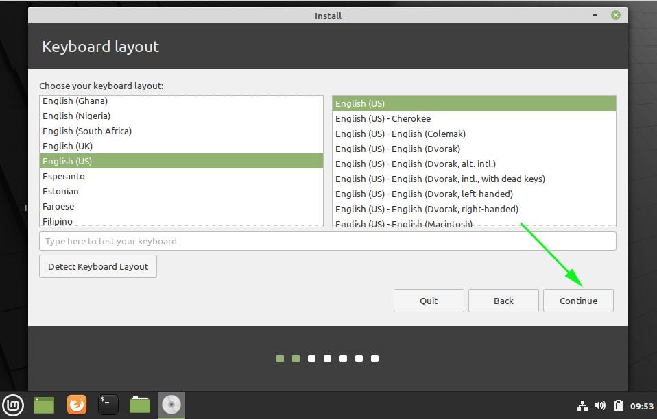 Select-keyboard-layout-Mint-20