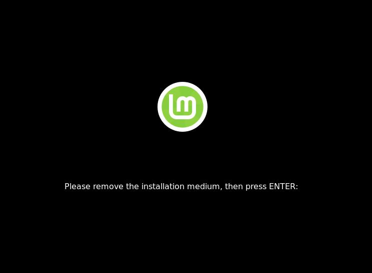 Remove-installation-medium