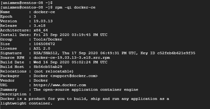 Check Docker version