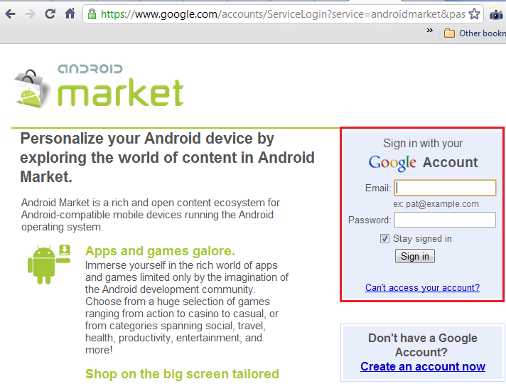 Android Market, a threat to your smartphone security! | Part I