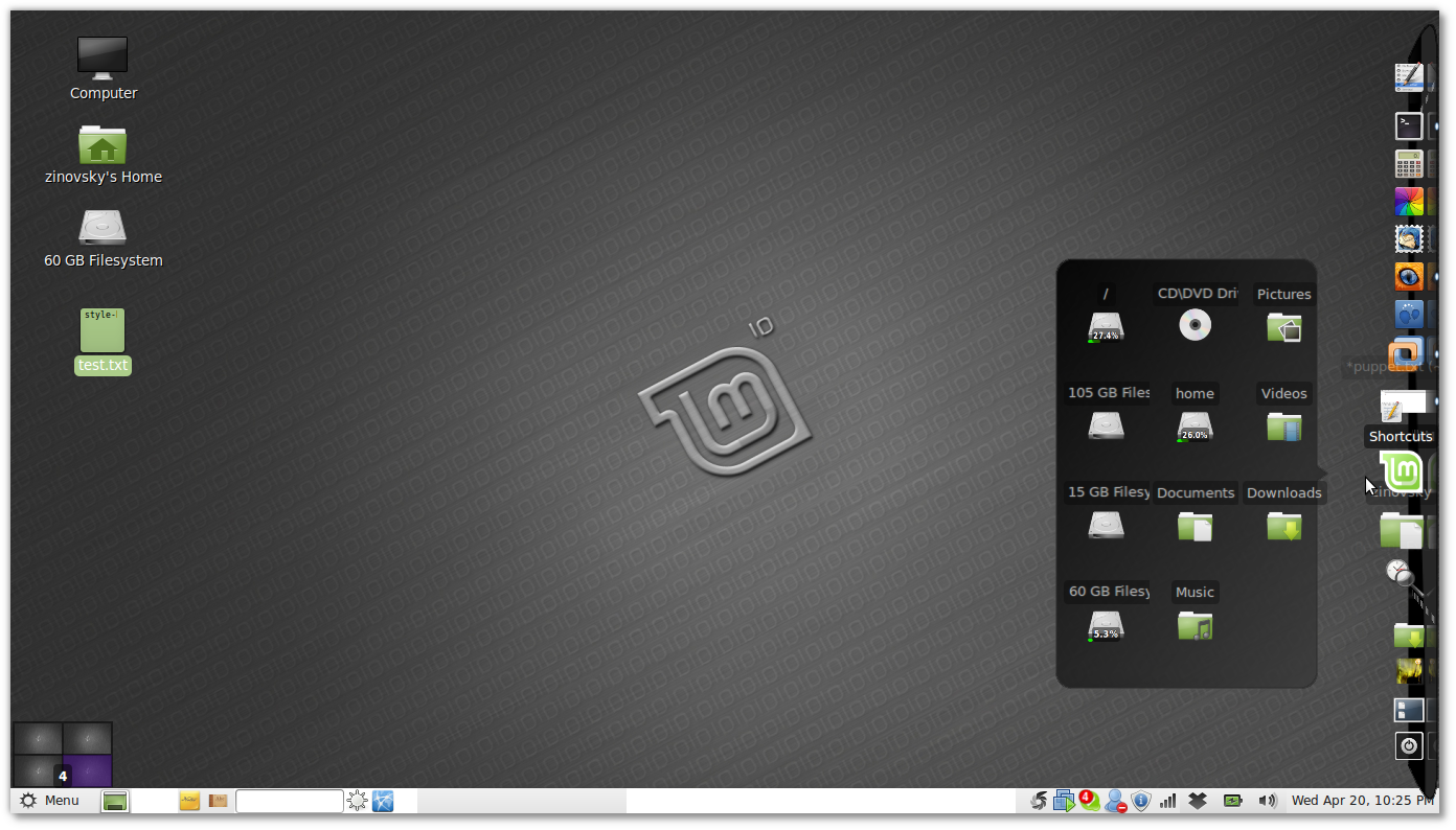 Cairo dock 2.3 comes with better compiz integration , new themes, system monitor applet and more