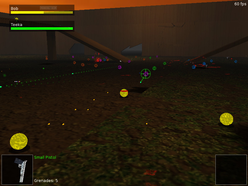 Blob Wars·: Blob And Conquer- A 3D opensource action game for Linux | Games
