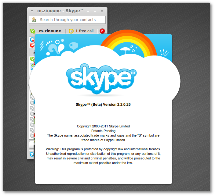 Skype 2.2 beta for Linux comes with Skype Access and improved audio/video quality