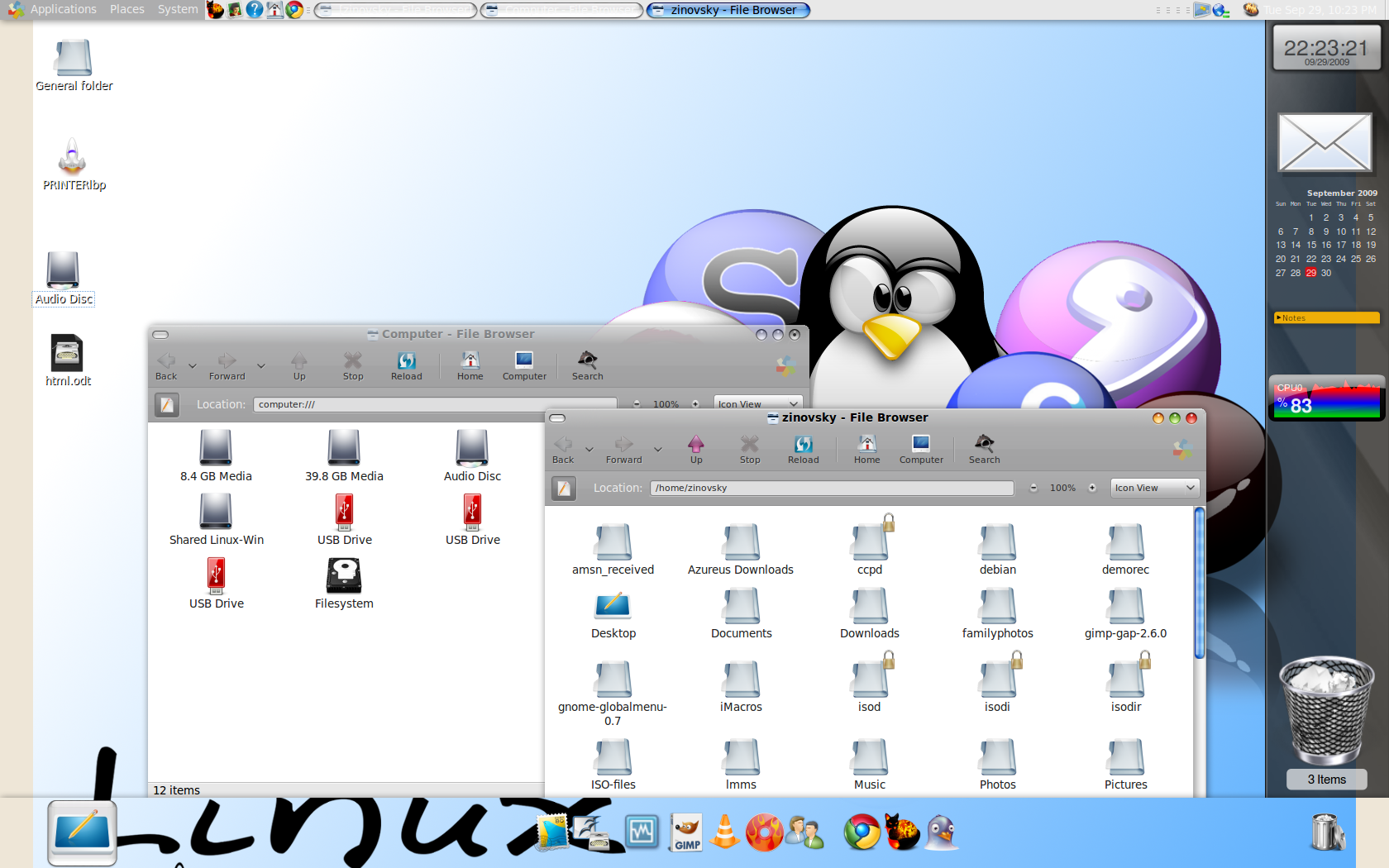 Mac OSX-like theme for your GNOME desktop