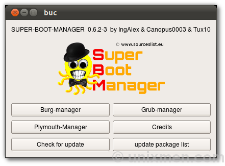 Super boot manager – Great tool to Manage Burg, Grub2 and Plymouth in Ubuntu