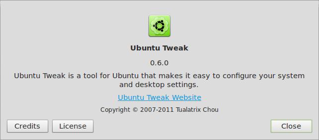 About Ubuntu Tweak 004