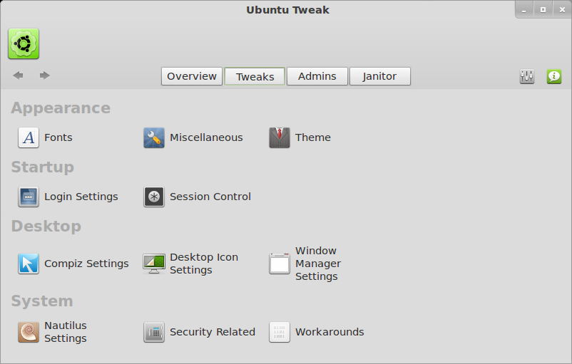 Ubuntu Tweak 002